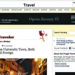 "New York Times de ""visita""  a Coimbra por pouco dinheiro"