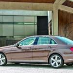 Classe E da Mercedes com novo estilo