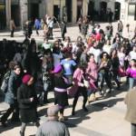 Violência contra mulheres inspira bailado de rua
