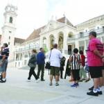 Trabalhadores não docentes contra passagem da Universidade de Coimbra a fundação