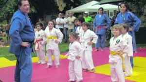17 demonstração da secção de judo na I Mostra Associativa