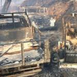 Presidente da Junta de Freguesia de Queirã, em Vouzela, sofre queimaduras no combate a incêndio