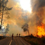 Dominado fogo que eclodiu na Reserva Natural da Malcata
