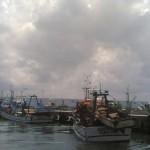 Mar agitado condiciona tráfego marítimo