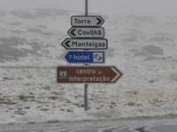 Três troços rodoviários encerrados na Serra da Estrela