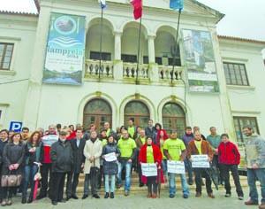11 UTENTES DA ESTRADA 110 EM PROTESTO 1