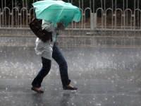 Proteção Civil alerta para chuva  e vento fortes  no Norte e Centro