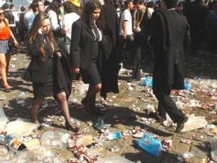 Menos resíduos recolhidos no final do cortejo da Latada