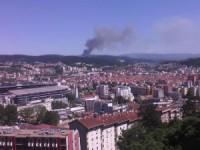 Fogo em Miranda do Corvo combatido por 150 bombeiros