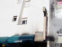 Fogo destrói sistema de exaustão do Restaurante Lisfoz