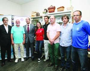 Feira foi apresentada em Ceira com a presença de atletas convidados, nomeadamente Aniceto Simões. FOTO LUÍS CARREGÃ
