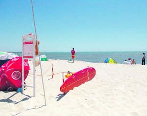 Principais praias do concelho têm nadadores-salvadores. FOTO PEDRO AGOSTINHO CRUZ