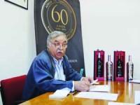 Victor Damião é o presidente da Adega Cooperativa de Cantanhede. FOTO JOANA SANTOS