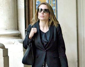 Ana Saltão, inspetora da Polícia Judiciária. FOTO LUÍS CARREGÃ