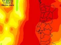 Quase todo o país com risco extremo e muito alto de exposição ultravioleta