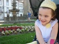 A pequena Bárbara encontra-se atualmente em reabilitação numa clínica, em Braga, até final de julho. DR