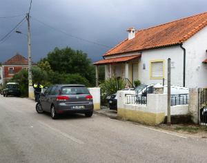 Habitação onde foi encontrado o casal assassinado. FOTO CARLOS JORGE MONTEIRO