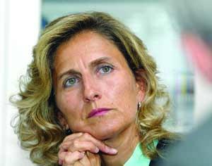 Ana Abrunhosa, presidente da CCDRC. FOTO LUÍS CARREGÃ