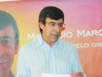 Candidato vencedor com 71 votos de diferença. FOTO DR