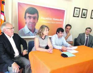José Redondo, Fátima Ramos, Maurício Marques, Nuno Freitas e Francisco Rodeiro. FOTO ANTÓNIO ALVES