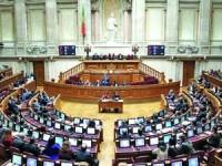 Plenário da Assembleia da República. FOTO DR
