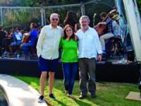 Pierre Lavoix, Joana Carneiro e José Miguel Júdice. FOTO AA