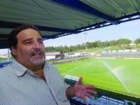 Vereador Jorge Sampaio no Estádio Municipal de Anadia. FOTO CARLOS JORGE MONTEIRO