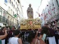 Procissão Solene da Rainha Santa. 13 julho 2014. FOTO LUÍS CARREGÃ