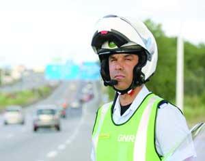 Mais de 4.500 agentes vão andar nas principais estradas do país. FOTO DR