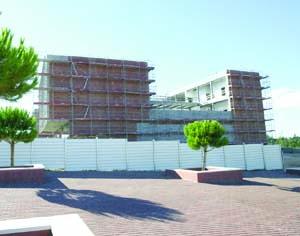 Edifício representa um investimento de 2,65 milhões de euros. FOTO LUÍS CARREGÃ