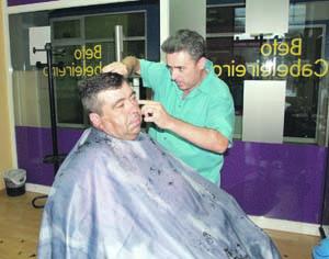 Carlos Alberto tem mais de 30 anos de profissão. FOTO JOANA SANTOS