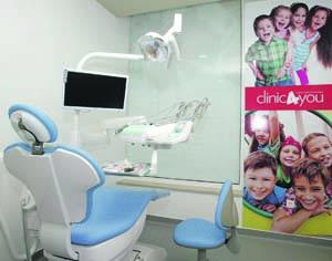 Sucesso da clínica médica e dentária levou à mudança de instalações. FOTO LUÍS CARREGÃ