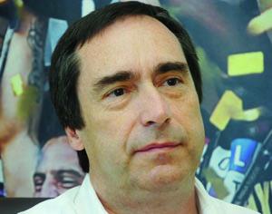 Presidente da Académica, José Eduardo Simões. FOTO CARLOS JORGE MONTEIRO