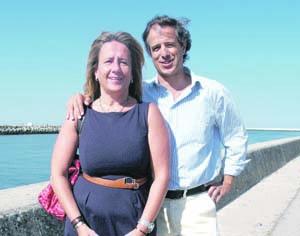 Joana Aguiar de Carvalho (PS) e Carlos Tenreiro (PSD). FOTO JOT'ALVES