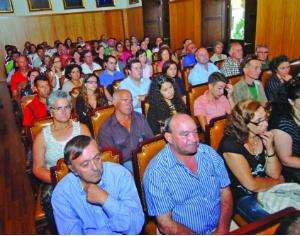 Lançamento da iniciativa decorreu no salão nobre dos Paços do Concelho. FOTO CARLOS JORGE MONTEIRO