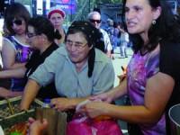 Na Feira à Moda Antiga, os produtores trajaram a rigor. FOTO CARLOS JORGE MONTEIRO