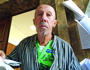 Luís Dias foi o único sobrevivente do acidente. ARQUIVO DB