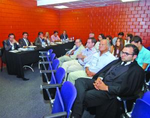 Assembleia-geral votou orçamentos para SDUQ e OAF. FOTO CARLOS JORGE MONTEIRO