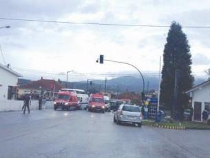 Quatro crianças com ferimentos ligeiros em acidente na Pampilhosa