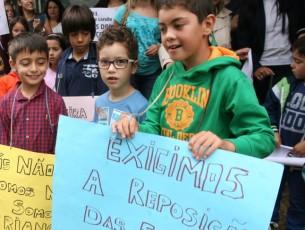 Crianças regressam à escola em Figueira de Lorvão