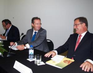 Costa Moura, António Henriques Gaspar e João Ataíde. FOTO JOT'ALVES