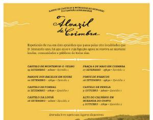 Montemor-o-Velho recebe na sexta-feira um espetáculo de rua com 500 pessoas
