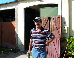 Pedro Trancho capturou o boi na manhã de ontem. FOTO DB/JOANA SANTOS