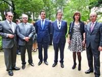 Aurélio Pereira, Martins Nunes, Pedro Almeida Ribeiro, Paulo Magalhães, Rosa Reis Marques e Tomás Correia. FOTO DB/LUÍS CARREGÃ