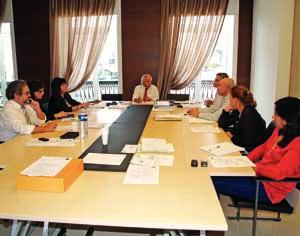 Executivo da Câmara Municipal de Cantanhede. FOTO DB/JOANA SANTOS