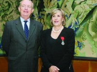 Jean-François Blarel e Cristina Robalo Cordeiro. FOTO DB/LUÍS CARREGÃ
