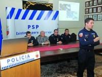 Campanha de prevenção da Polícia tem o apoio das juntas de freguesia da área urbana de Coimbra. FOTO DB/CARLOS JORGE MONTEIRO