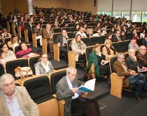 Evento decorre no auditório do Campus do Conhecimento, em Bencanta. FOTO DB/LUÍS CARREGÃ