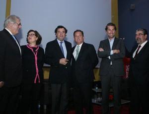Oradores na conferência promovida pelo DIÁRIO AS BEIRAS. FOTO DB/LUÍS CARREGÃ