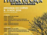 Miranda do Corvo organiza I Feira de Caça da Serra da Lousã no fim-de-semana
